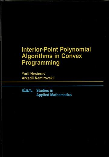 Interior point Polynomial Algorithms in Convex Programming PDF