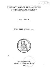 Transactions of the American Gynecological Society