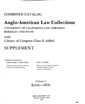 Anglo American Law Collections PDF