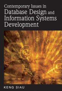 Contemporary Issues in Database Design and Information Systems Development PDF