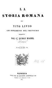 Titi Livii Padovani Historiarum ab urbe condita libri qui supersunt omnes ex recensione Arn. Drakenborch, accedunt supplementa deperditorum T. Livii librorum a Joh. Freinshemio concinnata: Volume 2