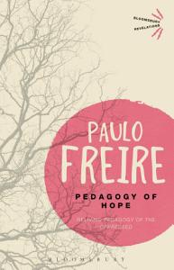 Pedagogy of Hope Book