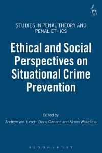 Ethical and Social Perspectives on Situational Crime Prevention PDF