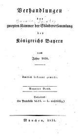 Verhandlungen: Protokolle, Volumes 46-50