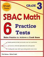 6 SBAC Math Practice Tests Grade 3
