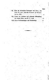 Jahrbücher der Gewaschskunde: Band 2