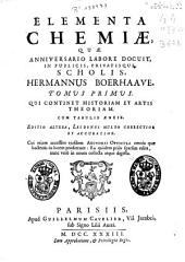 Elementa chemiae