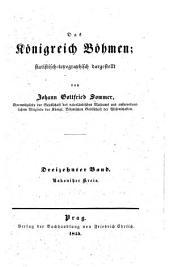 Das Königreich Böhmen: Bd. Rakonitzer Kreis. 1845