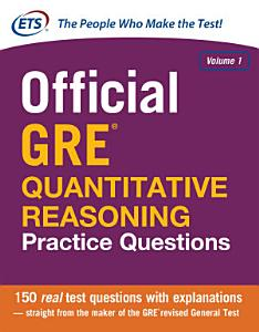 Official GRE Quantitative Reasoning Practice Questions Book
