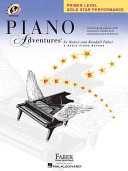 Primer Level   Gold Star Performance  Piano Adventures