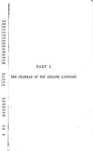 The English Language  Its Grammar  History  and Literature