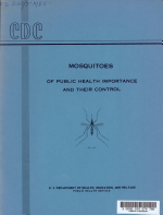 Mosquitoes of Public Health Importance and Their Control