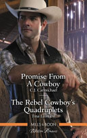 Promise From A Cowboy The Rebel Cowboy S Quadruplets Book PDF