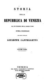 Storia della repubblica di Venezia dal suo principio sino al giorno d'oggi: Volume 9