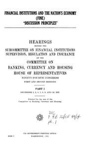 Financial Institutions and the Nation s Economy  FINE   Dec  2 10  1975 PDF