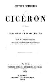 Oeuvres complètes de Cicéron: Volume1