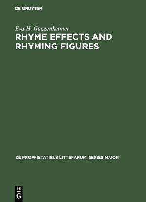 Rhyme effects and rhyming figures