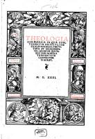 Theologia germanica PDF