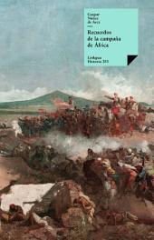 Recuerdos de la campaña de África
