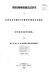 Tijdschrift voor staathuishoudkunde en statistiek: Volume 3