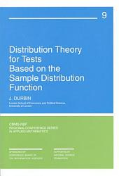 Distribution Theory for Tests Based on the Sample Distribution Function