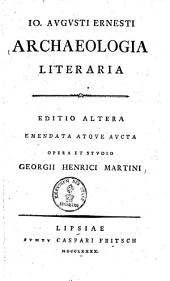 Archaeologia literaria