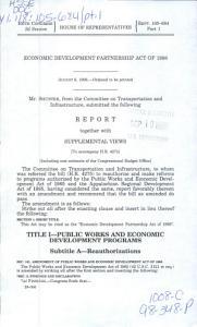 Economic Development Partnership Act of 1998 PDF