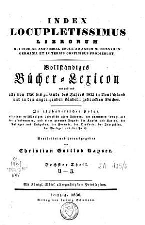 Index Locupletissimus Librorum        PDF