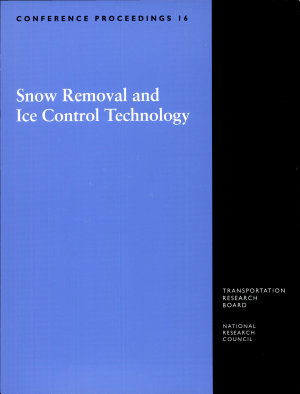 Snow Removal and Ice Control Technology