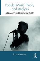 Popular Music Theory and Analysis PDF