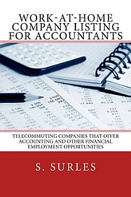 Work at Home Company Listing for Accountants