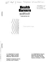 Health careers guidebook