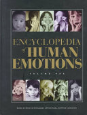 Encyclopedia of Human Emotions: A-H