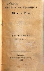 Adelbert von Chamisso's Werke: Bände 3-4