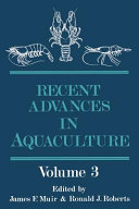 Recent Advances in Aquaculture