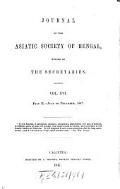 Journal of the Asiatic Society of Bengal: Volume 16, Page 2