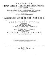 Symbolae ad grammaticam latinam ...: Volume 1