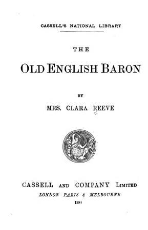 The Old English Baron PDF