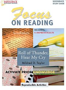 Roll of Thunder  Hear My Cry Reading Guide Book