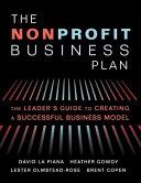 The Nonprofit Business Plan PDF