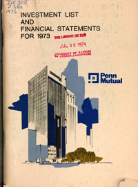 List of Investments and Statement of Financial Condition PDF