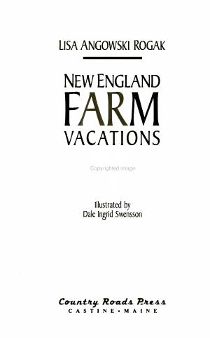 New England Farm Vacations PDF