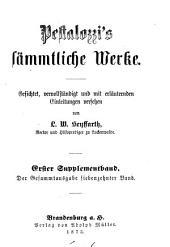 Pestalozzi's sämmtliche Werke: Band 17
