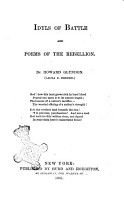 Idyls of Battle and Poems of the Rebellion by Howard Glyndon  Laura C  Redden  PDF