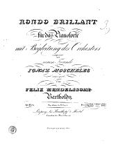 Rondo brillant für das Pianoforte mit Begleitung des Orchesters: 29. Werk
