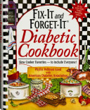 Fix it and Forget it Diabetic Cookbook Book