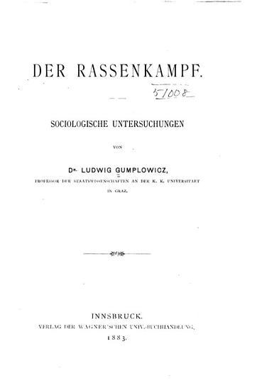 Der Rassenkampf PDF