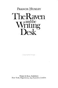 The Raven and the Writing Desk Book