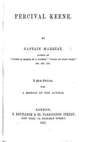 Percival Keene. With a portrait