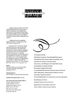 Indiana Libraries PDF